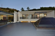 Hillside Concrete Modern House