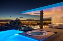 Concrete And Glass House Modern City Villa Arrcc