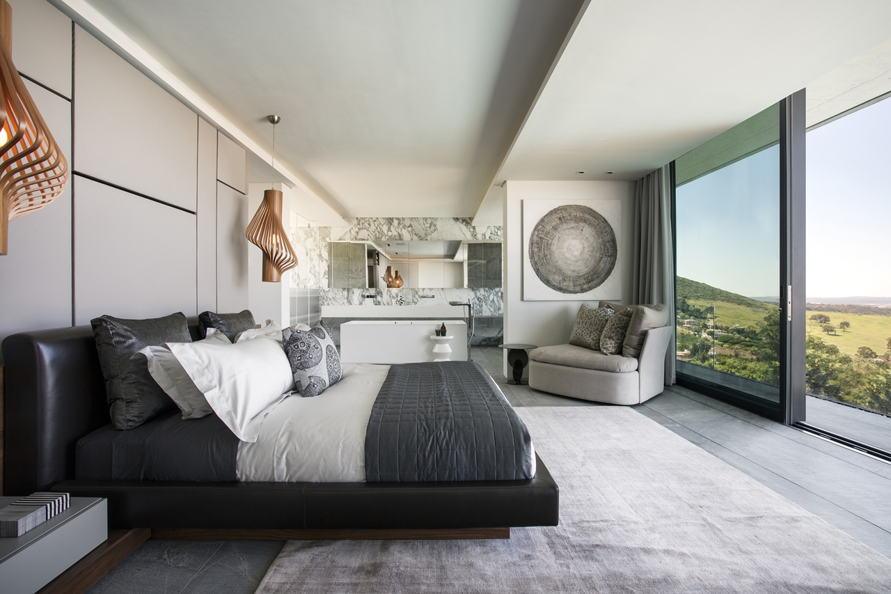Concrete And Glass House Modern City Villa By Arrcc