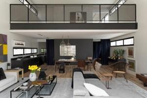 Modern Industrial Interior Design In Beautiful Ope