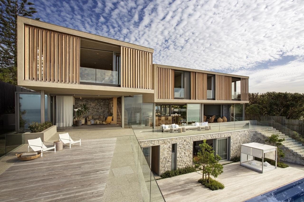 Wooden facade Modern house design by SAOTA  Architecture Beast