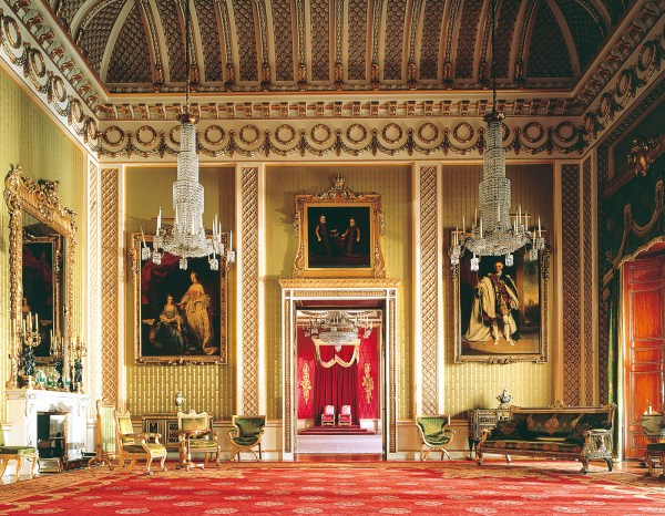 Inside Buckingham Palace Queens Room