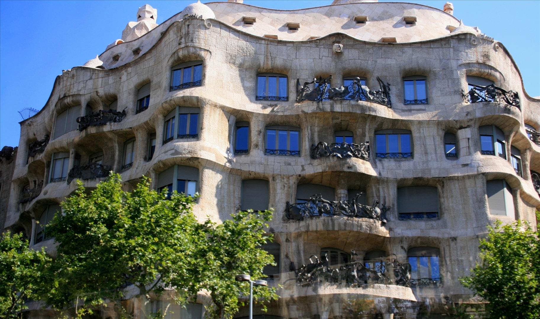 Casa Mila Antoni Gaudi