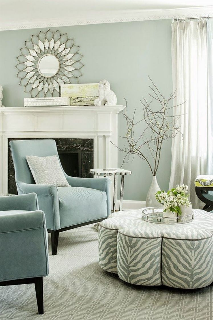 Colour Designs For Living Room: Chalky White Colors Living Room Paint Color Ideas Benjamin