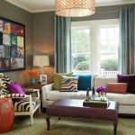 Colorful Urban Jungle Small Living Room Ideas