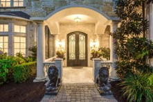 Entrance Grand Mediterranean Villa In Dallas HGTV