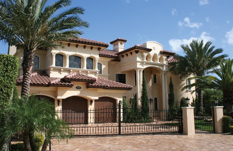 Mediterranean style home designs architecturein for Luxury mediterranean home plans