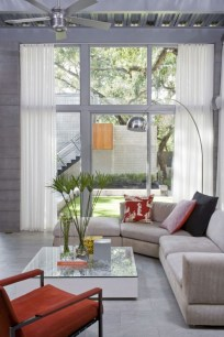Inpiring Idea Of Simple Modern House With Natural Environment Living Room Home