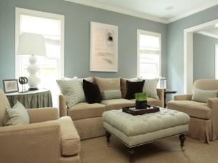 Minimalist Color Schemes For Living Room Contemporary Blue Beige Living Room With Blue