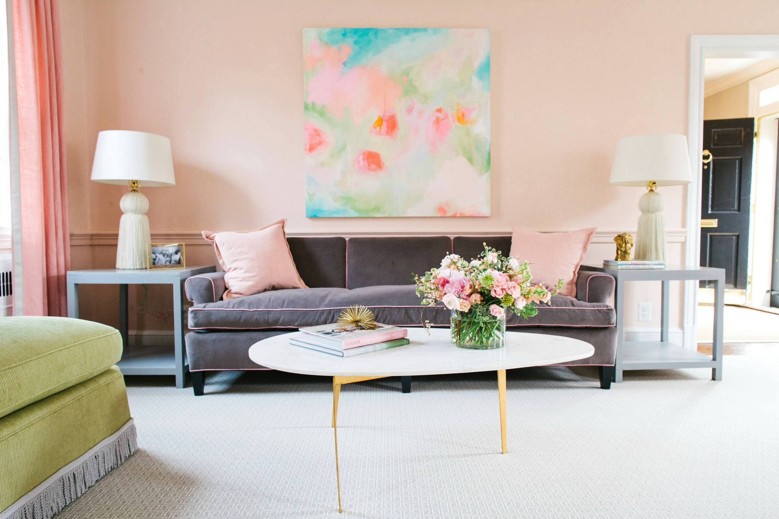 wall colors for living rooms 2017 cherry wood room furniture peach pink bright coloured ideas best cars reviews and color trends