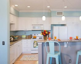 Polished Aqua Kitchen Colors 2017 Trend Color