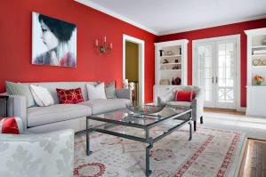 Red And White Combination Painting Colors 2017 Beautiful Living Room Wall Painting Colors 2017
