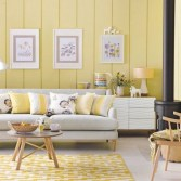 Trendy Inspiration Ideas Yellow Living Room