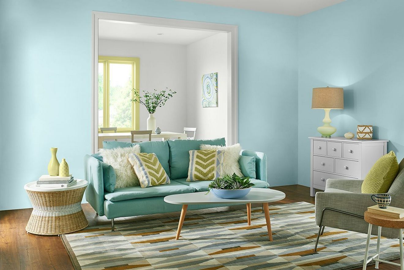 Wall Colour Inspiration: Turquoise Behr 2017 Color Trends See Every Gorgeous Paint