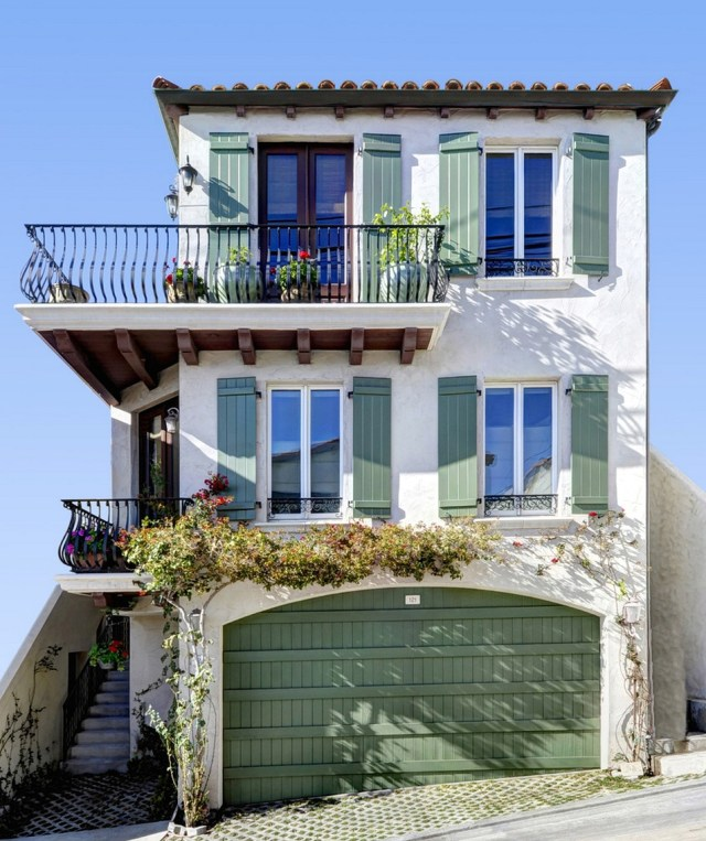 USA Baroque Balcony Los Angeles Mediterranean Style