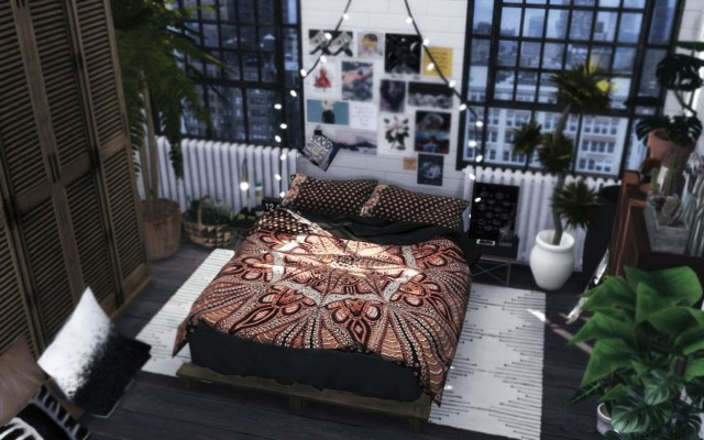 Anthropology Bedroom - Tumblr Moon