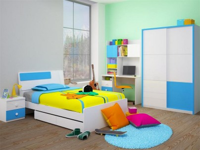 Creative Children's Rooms Design Ideas And Unique (110)