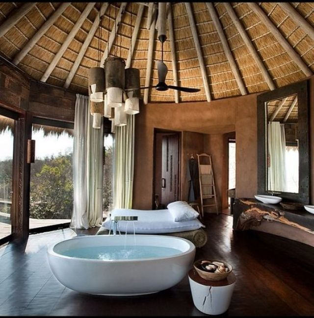 Mpdern Ethnic House - Bathroom