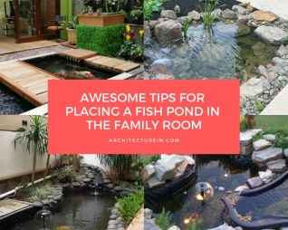 Awesome Tips For Placing A Fish Pond In The Family Room Featured