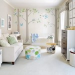 Baby Nursery Ideas Add A Comfortable Area For Adults