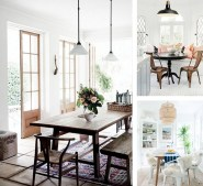 Beach House Style Natural Casual Dining Rooms