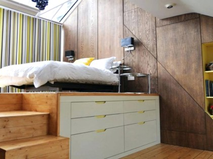 Cabinet Stage For Bedroom Design Ideas With Narrow Space
