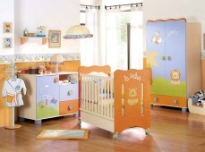 Creative Ideas For A Beautiful And Unique Bright Color Baby Room Design