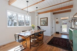 Custom Built Modern Urban Cottage Dining Room