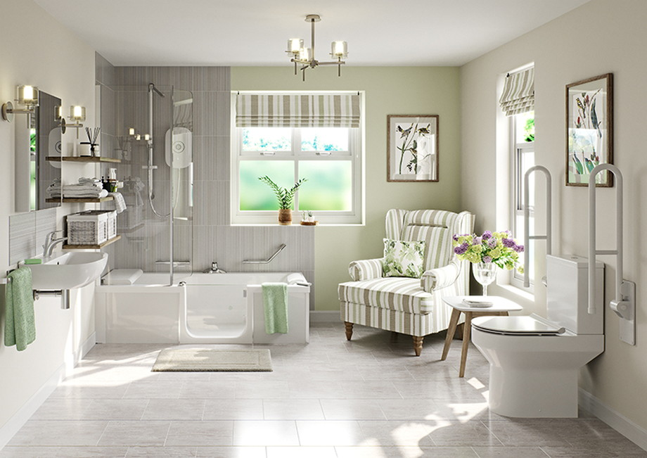 Designing Safe And Accessible Bathrooms For Seniors ...