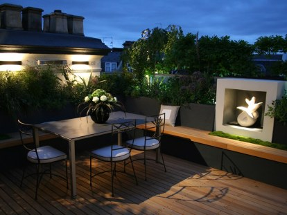 Furniture for Make a Beautiful and Attractive Rooftop Garden