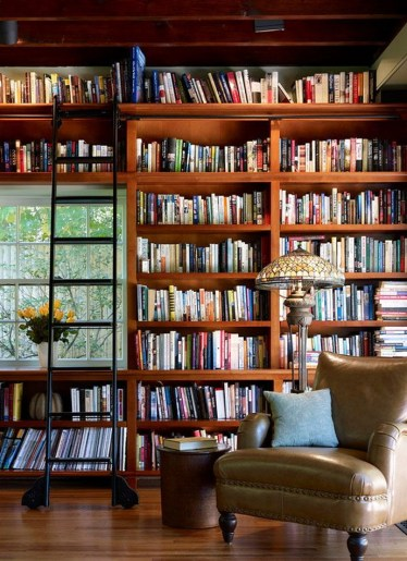 Home Library Design Ideas (29)