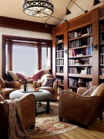 Home Library Design Ideas (30)