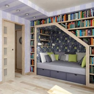Home Library Design Ideas (39)