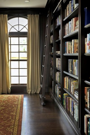 Home Library Design Ideas (51)