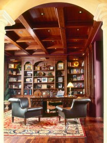 Home Library Design Ideas (63)