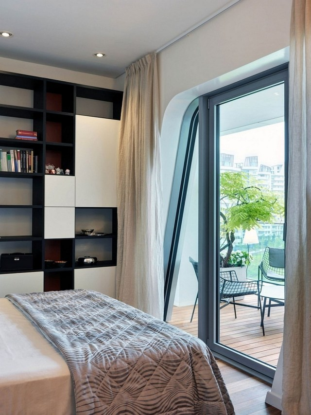 Inspired Accessories Bedroom With Balcony Design On A Budget