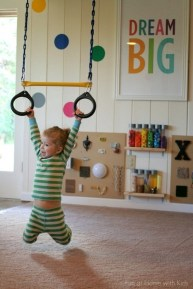 Kids Indoor Play House Gymnast In Training