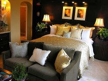 Luxury Lighting Bedroom Decorating Ideas