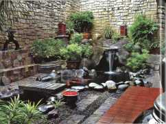 Mini Bridge for Awesome Tips for Placing a Fish Pond in the Family Room