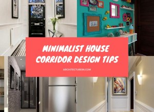 Minimalist House Corridor Design Tips Featured