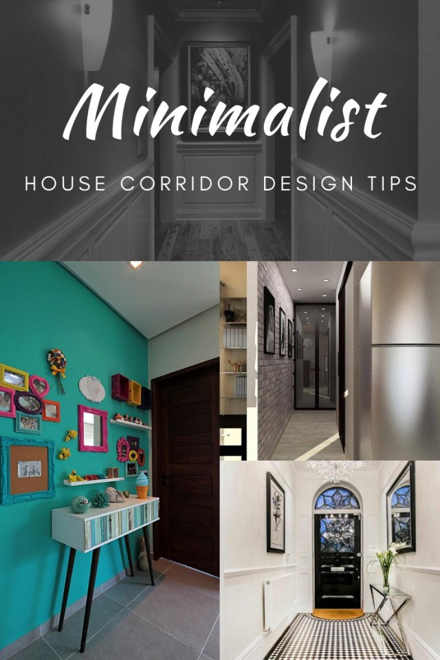 Minimalist House Corridor Design Tips