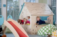 Multifunctional Indoor Children Playhouses