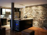 Perfect Mixed Style for Warm And Enjoyable Kitchen