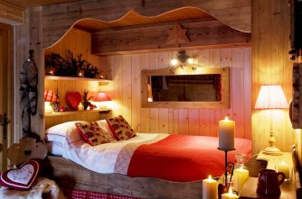 Romantic Design Ideas For Bedroom With Cool Lighting Room Ideas With Famous Architects And Wood Creative Headboards For Luxurious Bedrooms