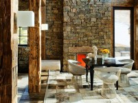 Stone Wall For Natural Style Home