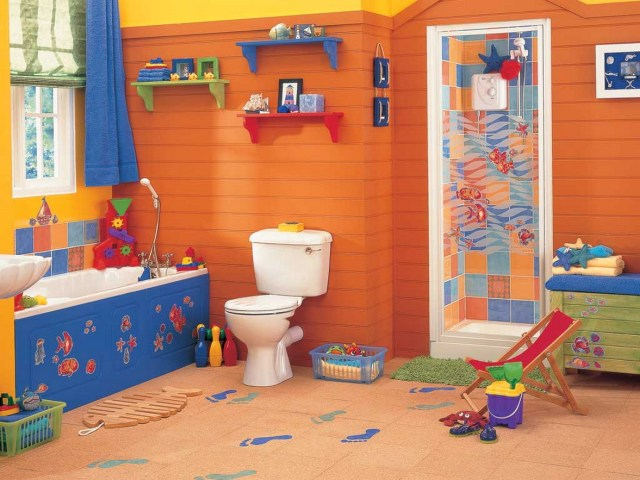 Toys And Displays For Kids Bathroom