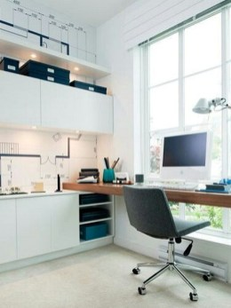 Unique And Comfortable Home Office Design Ideas (13)