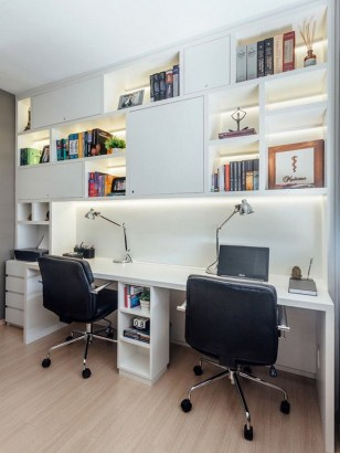 Unique And Comfortable Home Office Design Ideas (95)