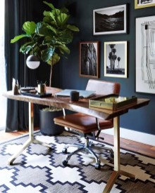 Unique And Comfortable Home Office Design Ideas (98)