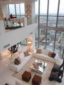 Urban Modern Chic Living Room In A Loft Style Home